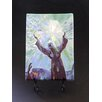 """Kim Rody Creations Ocean """"Christ Statue Pennekamp"""" Giclee Print on Gallery Wrapped Canvas"""