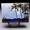 "Kim Rody Creations Ocean ""Tahiti Beach"" Giclee Print on Gallery Wrapped Canvas"
