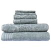 Highridge Trading Mosaic Jacquard  6 Piece Towel Set