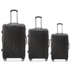 Champs Tourist 3 Piece Luggage Set