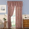 CHF London Plaid Window Treatment Collection