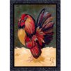 <strong>Fall Seasonal Provincial Rooster Novelty Rug</strong> by Milliken