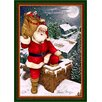 <strong>Milliken</strong> Winter Seasonal Up on the Housetop Christmas Novelty Rug