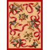 <strong>Milliken</strong> Winter Seasonal Holiday Bells and Bows Novelty Rug
