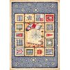 <strong>Winter Seasonal Holiday Patch of Snow Novelty Rug</strong> by Milliken