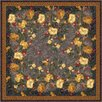 Milliken Pastiche Barrington Court Ebony Floral Rug