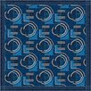 <strong>Pastiche Modernes Phantom Blue Rug</strong> by Milliken
