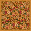 <strong>Pastiche Vachell Gold Floral Rug</strong> by Milliken