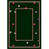 Milliken Design Center Billiards Emerald Novelty Rug