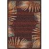 Milliken Modern Times Palm Dark Chocolate Area Rug
