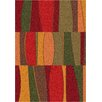 Milliken Modern Times Red Area Rug