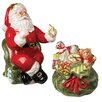 <strong>Kaldun & Bogle</strong> Christmas Gifts Santa, Gift Bag Salt and Pepper Set