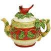 Kaldun & Bogle Cardinal Santa Cardinal Teapot