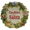 Kaldun & Bogle Toyland Christmas Cookies for Santa Plate