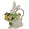 <strong>Spring Bunny Bows Teapot</strong> by Kaldun & Bogle