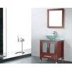 "Adornus Adrian 24"" Single Bathroom Vanity Set with Mirror"