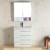 """Adornus Carlo 36"""" Single Bathroom Vanity Set with Mirror"""