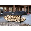 <strong>Steel Courtyard Log Rack</strong> by Woodhaven