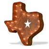 TrekDecor Iconics Texas State Wall Decor