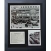<strong>Chicago Cubs - Wrigley Field 1935 Framed Photo Collage</strong> by Legends Never Die