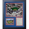 Legends Never Die Chicago Cubs - Wrigley Field Aerial Framed Photo Collage