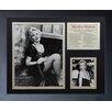 Legends Never Die Marilyn Monroe Portrait Framed Photo Collage