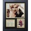 Legends Never Die Marilyn Monroe Black Lace Framed Photo Collage
