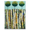 Artist Lane Summer Trees by Anna Blatman Painting Print on Canvas