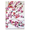 Artist Lane Pink Magnolia by Anna Blatman Painting Print on Canvas