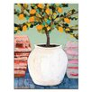 Artist Lane Lemon Tree in Pot by Anna Blatman Painting Print on Canvas