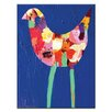 Artist Lane Long Leg Bird by Anna Blatman Painting Print on Canvas