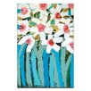 Artist Lane Blue Stems by Anna Blatman Painting Print on Canvas
