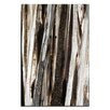 Artist Lane Treeline #2 by Katherine Boland Painting Print on Canvas in Umber