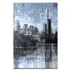 Artist Lane Lake View III by Jennifer Webb Painting Print on Canvas