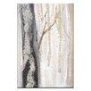 Artist Lane Moonlit Trees 3 by Karen Hopkins Painting Print on Canvas