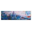 Artist Lane Colourful Melbourne by Jennifer Webb Painting Print on Canvas