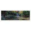 Artist Lane Boathouse Reflection by Andrew Brown Photographic Print on Canvas