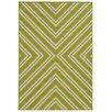 Oriental Weavers Riviera Green/Ivory Geometric Area Rug