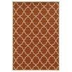 <strong>Oriental Weavers</strong> Riviera Orange/Ivory Geometric Rug