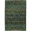 Oriental Weavers Nomad Green/Blue Area Rug