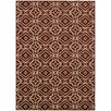 Oriental Weavers Steele Red/Ivory Geometric Diamond Area Rug