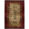 Oriental Weavers Generations Dark Red Plant Area Rug