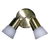 <strong>Felix 2 Light Pan Light</strong> by Whitfield Lighting