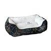 MotorHead Products Mossy Oak Rectangle Cuddler Dog Bed