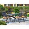Sunjoy Largemont 7 Piece Dining Set with Cushions