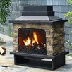 Sunjoy Felicia Outdoor Fireplace