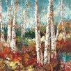 "Portfolio Canvas Decor ""Birch Sky II"" Painting Print on Wrapped Canvas"