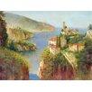 "Portfolio Canvas Decor ""Vision of Amalfi"" Painting Print on Wrapped Canvas"