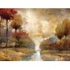 "Portfolio Canvas Decor ""Fond Memory"" Painting Print on Wrapped Canvas"