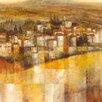 "Portfolio Canvas Decor ""Azienda"" Painting Print on Wrapped Canvas"